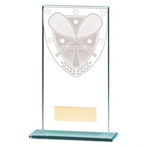 Millennium Squash Jade Glass Award 160mm